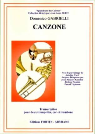 Domenico Gabrielli - canzona - Sheet Music - di-arezzo.com