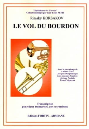Le vol du bourdon RIMSKY-KORSAKOV Partition laflutedepan