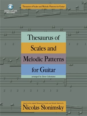 Nicolas Slonimsky - Thesaurus of scales and melodic Patterns for guitar mp3 - Sheet Music - di-arezzo.co.uk