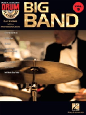 Drum play-along volume 9 - Big band Partition laflutedepan