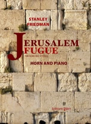 Stanley Friedman - Jerusalem runs away - Sheet Music - di-arezzo.com