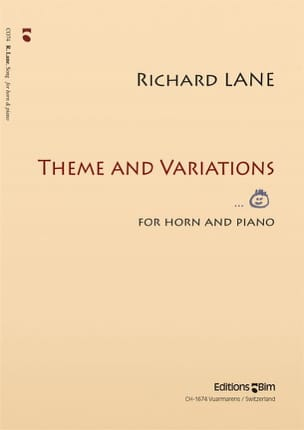 Theme and variations - Richard Lane - Partition - laflutedepan.com