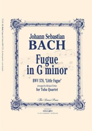 BACH - Fugue in G minor - BWV 578, Little fugue - Partition - di-arezzo.fr