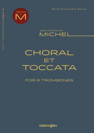 Jean-François Michel - Choral et Toccata - Partition - di-arezzo.fr