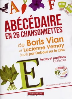 Vian Boris / Vernay Lucienne - Abécédaire en 26 chansonettes - Partition - di-arezzo.fr