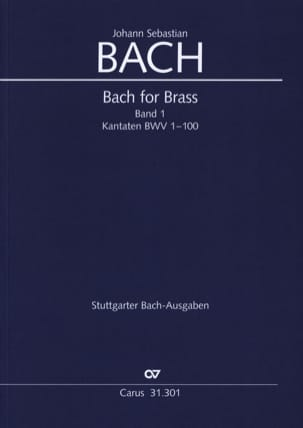 BACH - Bach for Brass Band 1 - Kantaten BWV 1-100 - Sheet Music - di-arezzo.com