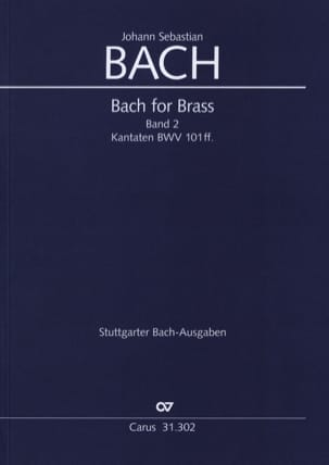 BACH - Bach for Brass Band 2 - Kabtaten BWV 101ff. - Sheet Music - di-arezzo.co.uk