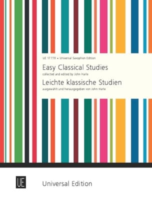 John Harle - Easy classical studies - Partition - di-arezzo.fr
