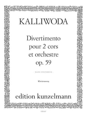 J. Wezeslaus kalliwoda - Divertimento opus 59 - Partition - di-arezzo.fr