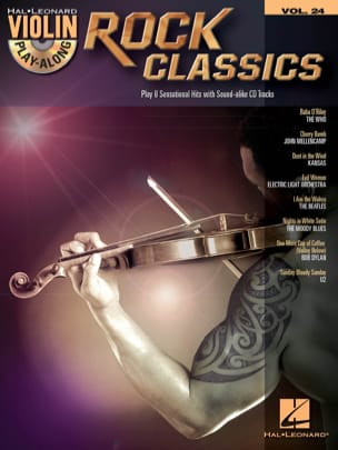 Violin play-along volume 24 - Rock classics Partition laflutedepan