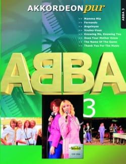 Akkordeon Pur - ABBA 3 ABBA Partition Accordéon - laflutedepan