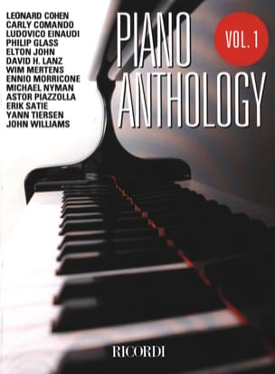 - Piano anthology volume 1 - Sheet Music - di-arezzo.com
