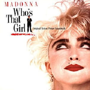 Madonna - Who's that girl - Partition - di-arezzo.fr