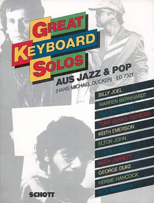 Hans-Michael Duecker - Great keyboard solos of jazz and pop - Partition - di-arezzo.fr