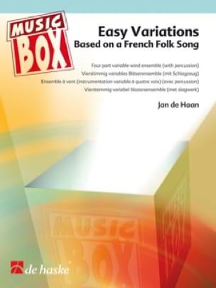 Haan Jan de - Easy variations - music box - Partition - di-arezzo.fr