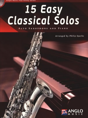 15 Easy classical solos Partition Saxophone - laflutedepan