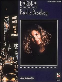 Barbra Streisand - Back to Brodway - Partition - di-arezzo.fr
