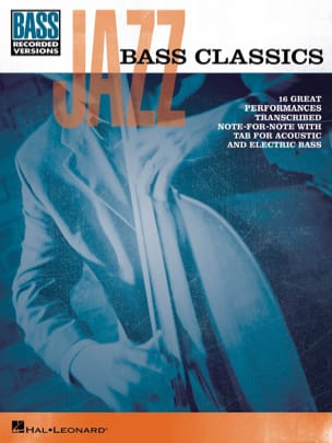 Jazz bass classics - Partition - Guitare - laflutedepan.com