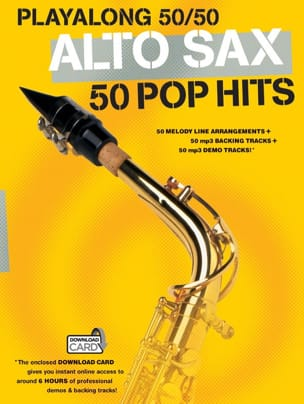 - Playalong 50/50 - Alto Sax - 50 pop hits - Partition - di-arezzo.fr