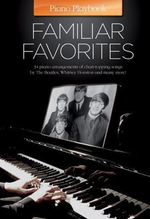 Piano playbook - Familiar favorites - Partition - laflutedepan.com
