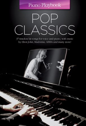Piano playbook - Pop classics - Partition - laflutedepan.com