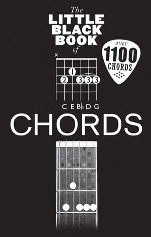 - The little black book of Chords - Partition - di-arezzo.fr