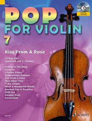 - Pop for Violin Volume 7 - Kiss from a rose - Partition - di-arezzo.fr