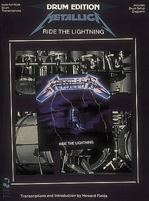 Ride The Lightning Metallica Partition Batterie - laflutedepan
