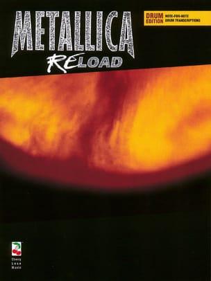 ReLoad - Metallica - Partition - Batterie - laflutedepan.com