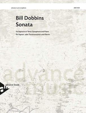 Sonata Bill Dobbins Partition Saxophone - laflutedepan