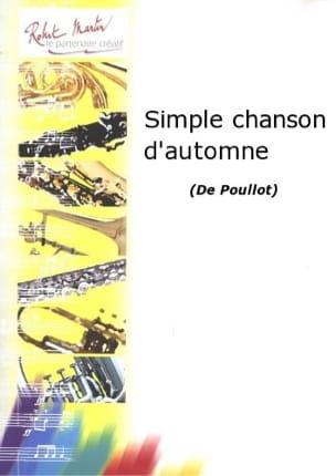 Simple chanson d'automne - François Poullot - laflutedepan.com