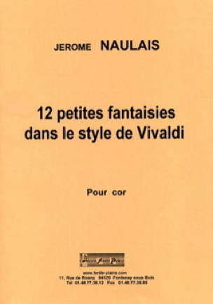 Jérôme Naulais - 12 Little fantasies in the style of Chopin - Sheet Music - di-arezzo.com