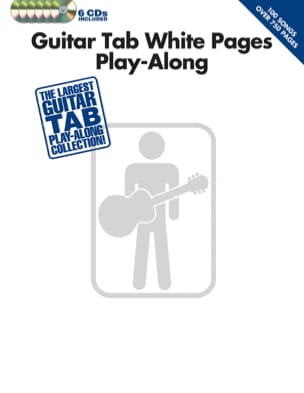 - Guitar Tab White Pages Play-Along avec 6 CDs - Partition - di-arezzo.fr