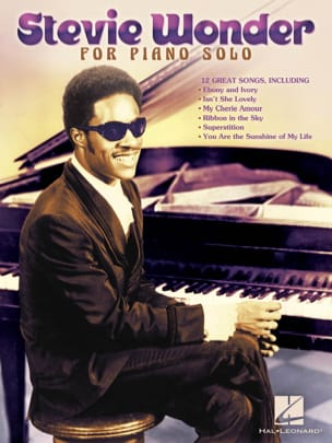 Stevie Wonder - Stevie Wonder for piano solo - Partition - di-arezzo.fr