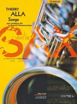 Songe Thierry Alla Partition Saxophone - laflutedepan