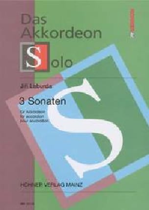 Jiri Laburda - 3 Sonaten - Sheet Music - di-arezzo.co.uk