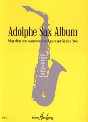 Adolphe Sax album Partition Saxophone - laflutedepan