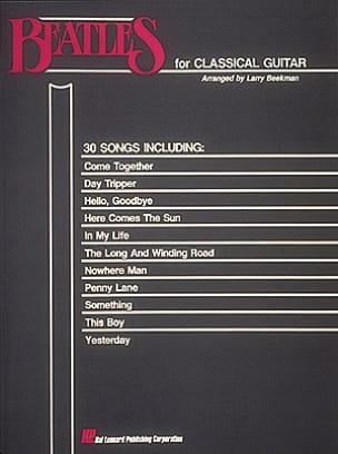 BEATLES - Beatles for classical guitar - Sheet Music - di-arezzo.co.uk