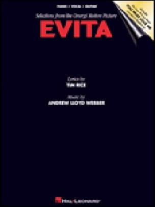 Evita - Andrew Lloyd Webber - Partition - Piano - laflutedepan.com