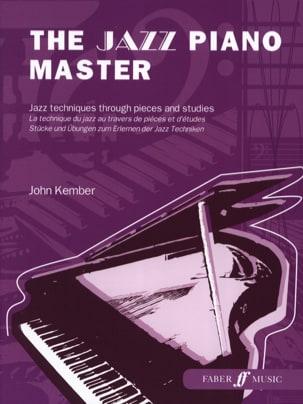 John Kember - The jazz piano master Grade 6 - Sheet Music - di-arezzo.com