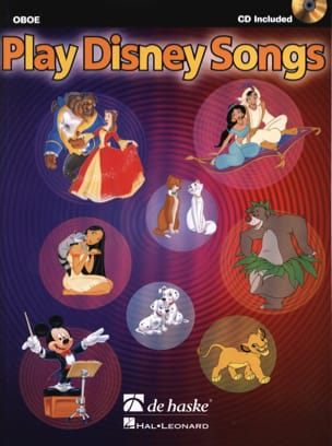 Play Disney songs DISNEY Partition Hautbois - laflutedepan