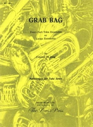 Conrad de Jong - Grab bag - Partition - di-arezzo.fr
