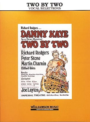 Two by two - Vocal selections - Richard Rodgers - laflutedepan.com