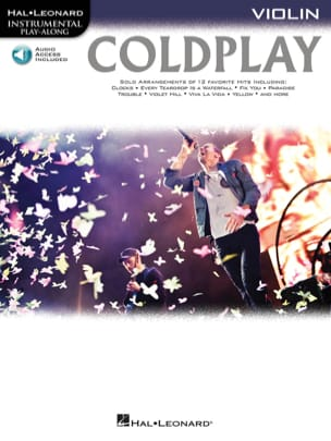 Coldplay - Coldplay Instrumental play-along - Sheet Music - di-arezzo.com