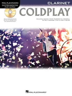 Coldplay - Instrumental play-along - Coldplay - laflutedepan.com