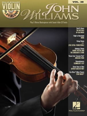 John Williams - Violin play-along volume 38 - John Williams - Partition - di-arezzo.fr