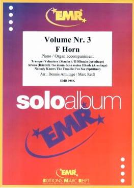 Solo album volume 3 - Partition - Cor - laflutedepan.com