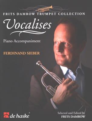 Vocalises - Ferdinand Sieber - Partition - Piano - laflutedepan.com