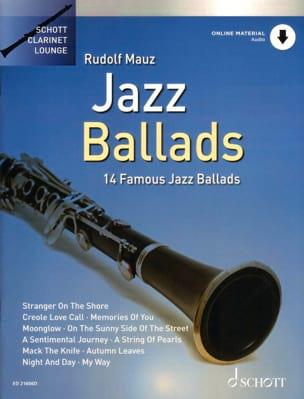Jazz ballads - 14 Famous jazz ballads Partition laflutedepan