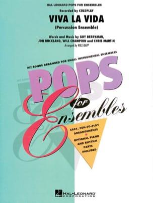 Viva la vida - Pops for ensembles - Coldplay - laflutedepan.com